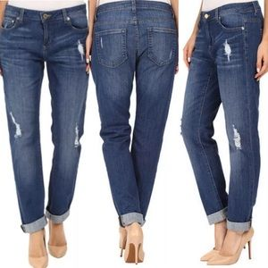 Michael Kors Jeans - Michael Kors Dillon Relaxed Distressed Size 4